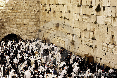 Wailing Wall in Jerusalem Editorial Image