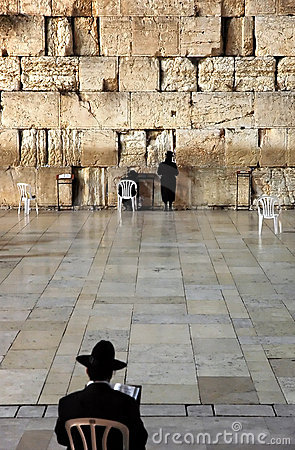 The Wailing Wall - Jerusalem Editorial Image
