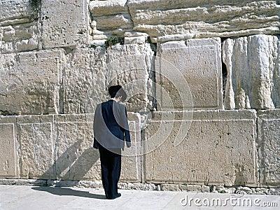 Wailing Wall, Jerusalem Editorial Photo