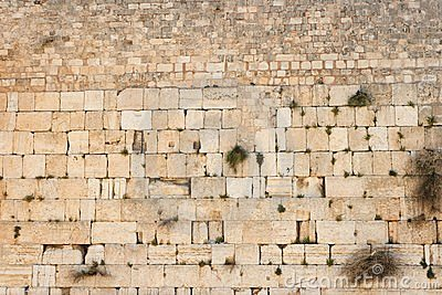 Wailing Wall (Western Wall) in Jerusalem texture