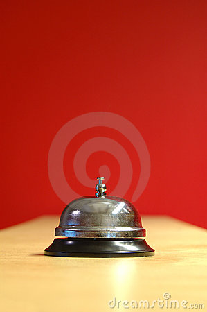 Free Waiter Bell Royalty Free Stock Images - 56019