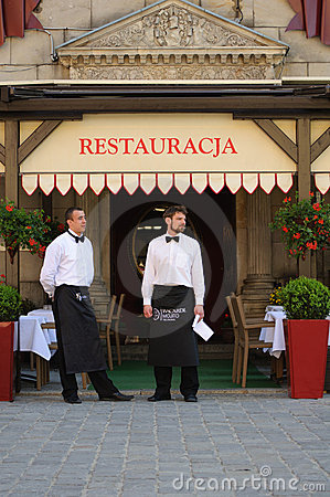 Waiters Editorial Stock Photo