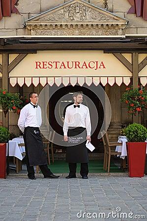 Waiters Editorial Stock Photo