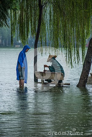 Free Waiting For The Rain To Stop Stock Photo - 126725840