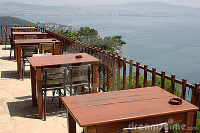 Outdoor Restaurant with a Marvelous Panoramic View