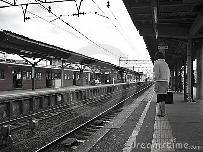 Waiting in a Railway Station