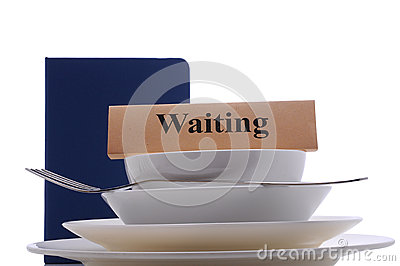 Waiting table