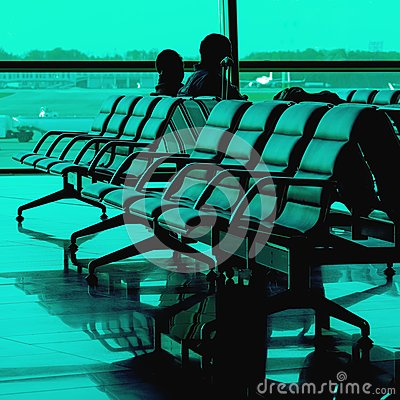 Waiting time at airport