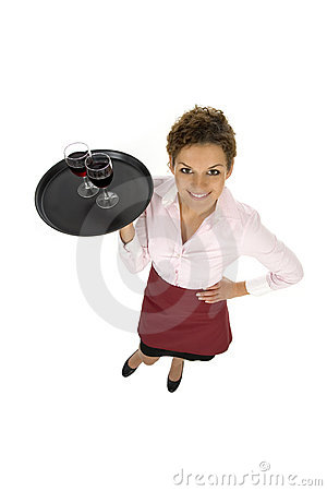 Free Waitress Stock Image - 6554321