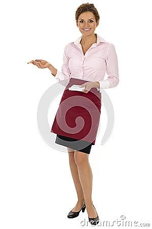 Free Waitress Stock Photo - 6554340