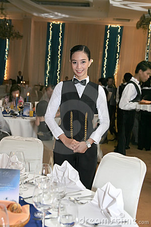 Waitress uniform