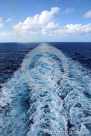 Free Wake From Cruise Ship Royalty Free Stock Image - 1859796