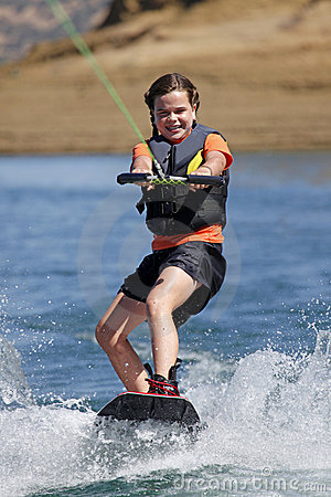 Free Wakeboard Royalty Free Stock Photo - 13444595