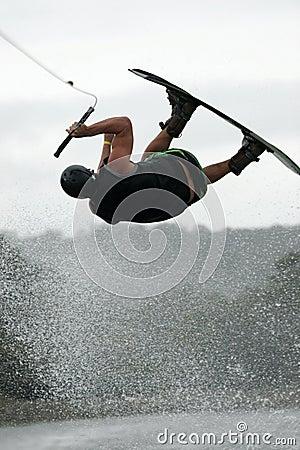 Wakeboard air