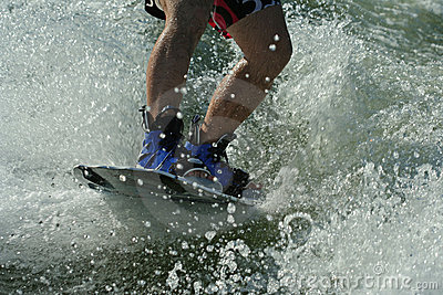 Wakeboard splash -