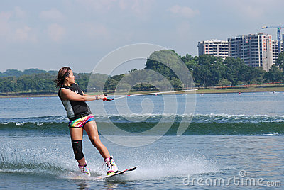 Wakeboarder Editorial Image