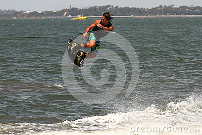 Wakeboarding demonstration Editorial Photography