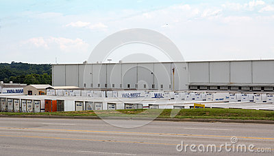 Wal-Mart Distribution Center Editorial Photography