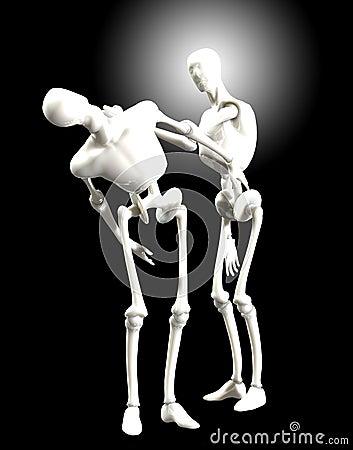 Walczący humanoids