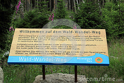 Wald wandel weg Editorial Photo