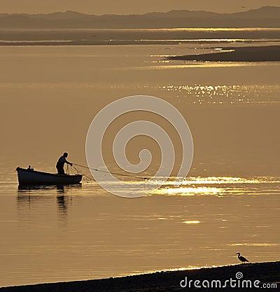 Wales - Fishing - Caernarfon Editorial Stock Image