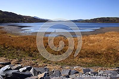 Wales - Gwynedd - Bala Lake Editorial Stock Image