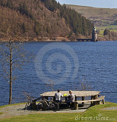 Wales - Lake Vyrnwy - Powys Editorial Image