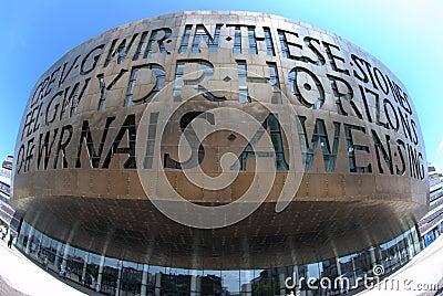 Wales Millennium Centre Editorial Image