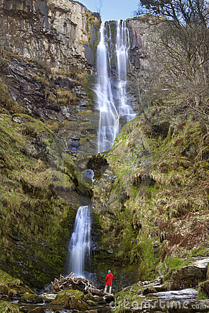 Wales - Pistyll Rhaeadr Waterfall - United Kingdom