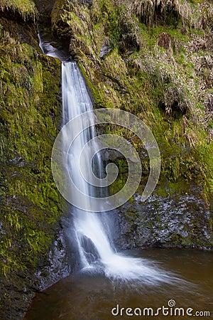 Wales - Pistyll Rhaeadr Waterfall - United Kingdom