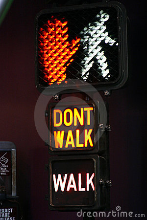 Walk/Don't Walk Stock Photo - Image: 69570