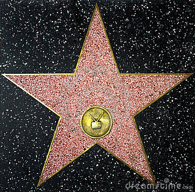 The Walk Of Fame Empty Star Editorial Photography - Image ...