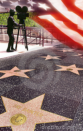 Walk of Fame - Hollywood - USA Editorial Photography