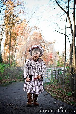 Free Walk In Fall Royalty Free Stock Image - 4650956