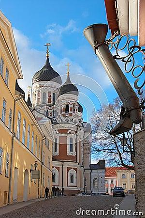 Free Walk In Tallinn Stock Photo - 4360300