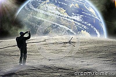Walk on the Moon.