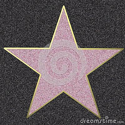 Free Walk Of Fame, Illustration Stock Photo - 7031650