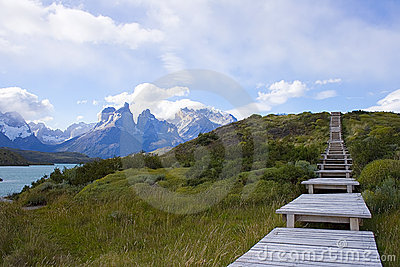 A walk in patagonia