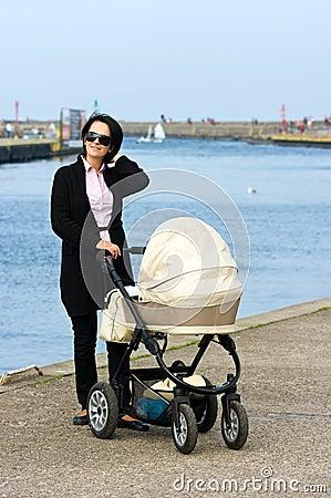 Walk with pram