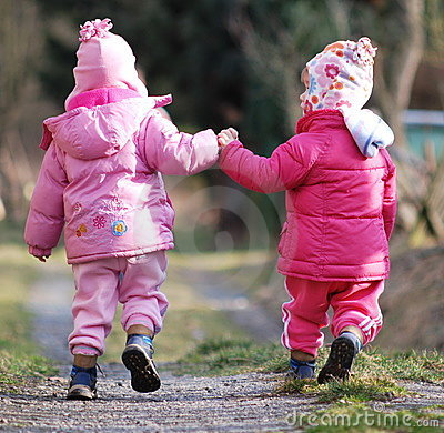 Walk with sister