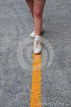 Walk  The Straight Line