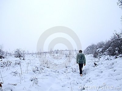 Walk in winter