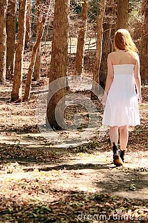 Free Walking Away Royalty Free Stock Image - 30498476