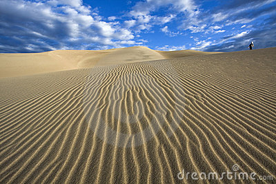 Walking the dunes - Great Sand Dunes National Park