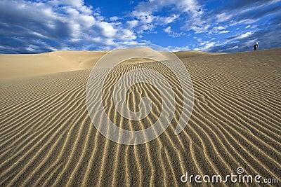 Walking the dunes - Great Sand Dunes National Park