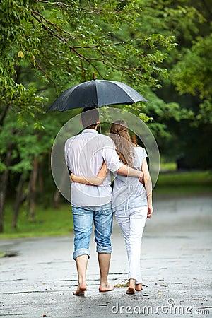 Free Walking In The Rain Stock Photos - 16328653