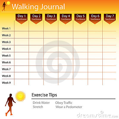 Walking Journal Chart