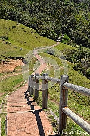 Walking path at Cape Byron, Australia