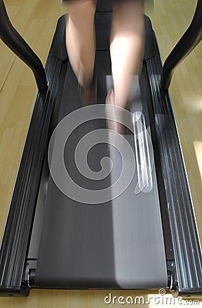 Walking On Treadmill Stock Photo Image 60116267
