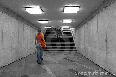 Walking in the underground